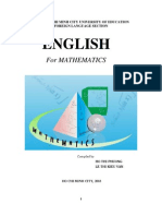 English for Mathematics (HoThiPhuong)