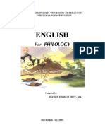 English for Philology(NguyenThiBichThuy)