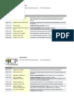 Icp Invited Programme