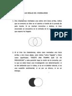 Las Reglas Del Chamalongo