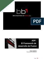 ADF. El Framework de Desarrollo de Fusion v3.0