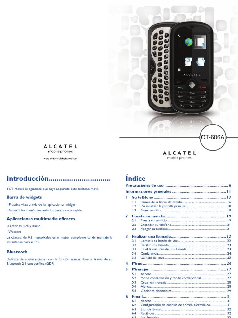 OT-606 - User Manual - Spanish Latin Americas