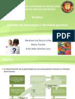 Pruebas de Paternidad e Identidad Genetica
