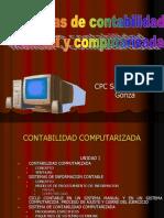 Sistema ad Manual y Computarizada