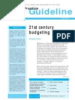 21st Century Budgeting GPG29