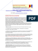 BUENAS PRACTICAS DOCENTES