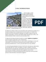 agua y contaminacion