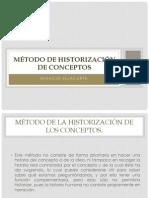 Método de Historización de conceptos