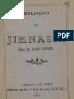 Ejército de Chile. Reglamento de Jimnasia para las armas montadas. (1903)