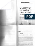 Marketing Estrategico Para Pymes Capitulo i y II