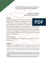 A eficácia imediata dos direitos fundamentais individuais nas relações privadas e a ponderação de interesses
