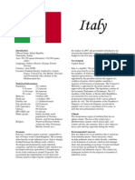 Italy Report