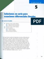 Capitulo 05 - Soluciones en Serie Para Ecuaciones Diferenciales Lineales
