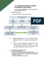 Clase 3 y 4. Aplicación de la norma Seguridad e higiene en los  establecimientos pesqueros