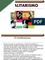 Características do Fascismo