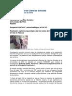 """Proyecto """"El Fundo Vaitea. Patrimonio y Memoria en Rapa Nui durante el periodo de la Compañía Explotadora"""" (Noticias FACSO. U. de Chile)"""