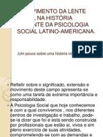 O MOVIMENTO DA LENTE FOCAL NA HISTÓRIA RECENTE