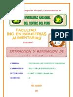EXTRACCION Y REFINACION DE CAÑA DE AZUCAR FINAL