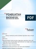 Pembuatan Biodiesel