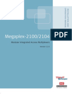 Megaplex MP-2100 2104 Manual