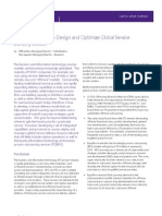 EquaTerra Perspective How to Design and Optimize Global Service Delivery Models Aug 2007