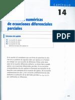 Capitulo 14 - Soluciones Numericas de Ecuaciones Diferenciales Parciales