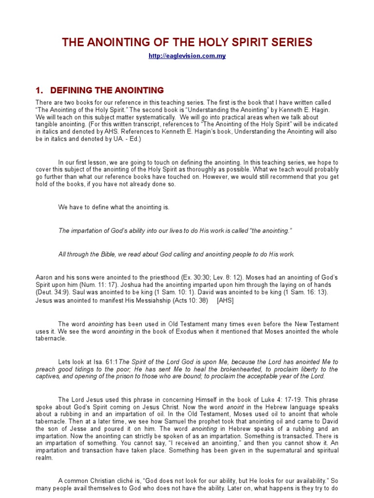 The Anointing by Peter Tan | Samuel | Saul
