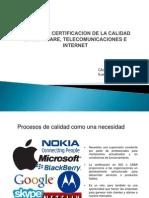 Modelo de Certificacion de La Calidad en Software