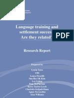 Yates Et Al., Language Training Settlement Success Report