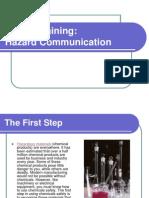 Safety Training (Hazard Communication)