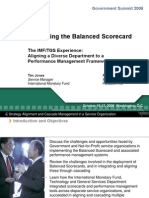 Cascading the Balanced Scorecard