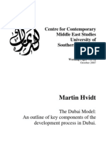 The Dubai Model by M Hvidt Oct07