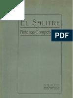 El salitre ante sus competidores. Algunos antecedentes que permiten juzgar del porvenir del Salitre de Chile ante la producción de sus similares. (1918)