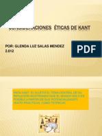 CONSIDERACIONES  ÉTICAS DE KANT