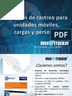 Presentacion Max Tracker - Cliente Final