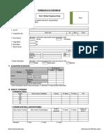 Format CV Surat Lamaran BRI Kode A