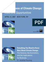 Business of Climate Change