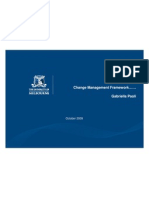 WSC Change Management Framework