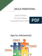 MIKROEMULSI PARENTERAL