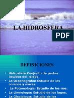 (4) La Hidrosfera Modificado