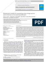 2010 Wade Et Al Management Strategies for Maximizing Carbon Storage and Tree