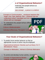 Organizational Behavior and Conflict
