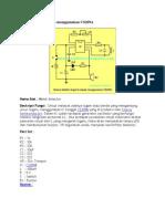 Skema Detektor Logam Menggunakan CS209A