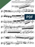 Zigeunerweisen Sarasate Op.20