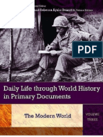 Daily Life Through World History in Primary Documents Volume 1, The Ancient World