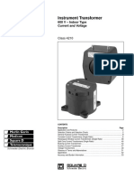 SquareD Instrument Transformer 600V Indoor Selecto