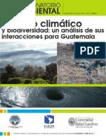 Cambio Climatico y Bio Divers Id Ad - Suplemento Observatorio Ambiental