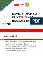 Membuat Aplikasi Desktop Berbasis Database Oracle