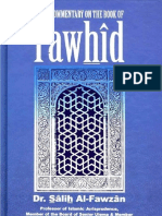 A Concise Commentary on the Book of Tawhid - Shaikh Dr. Saleh al-Fawzaan