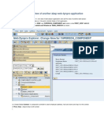 Calling an Interface View of Another Abap Web Dynpro Application